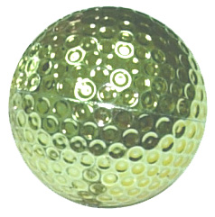 Gold Plastic Ball